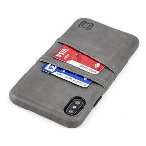Exec M2 Wallet Case iPhone Case Dockem iPhone XS Max Grey Yes