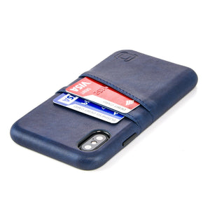 Exec M2 Wallet Case iPhone Case Dockem iPhone XS Navy Yes