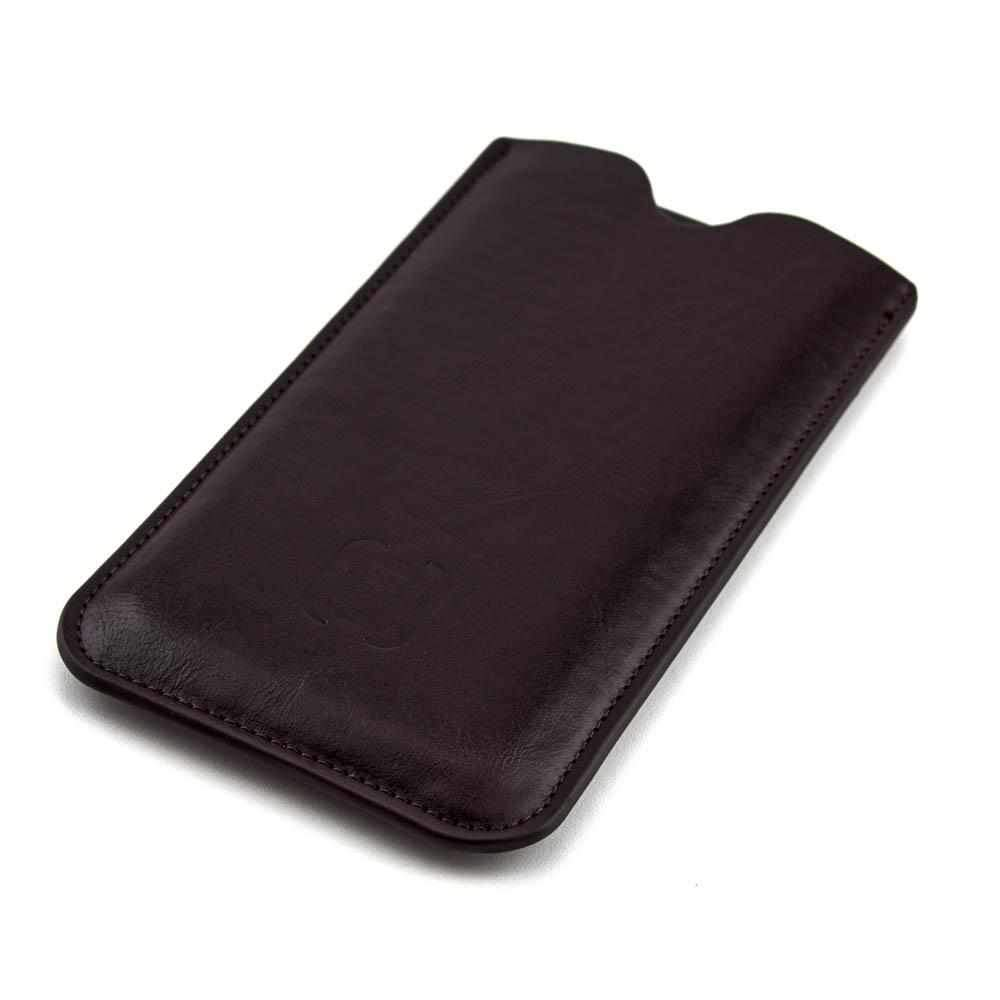 Executive Sleeve - Premium Synthetic Leather with Microfiber Lining - Google Pixels Google Sleeve Dockem Pixel Dark Brown