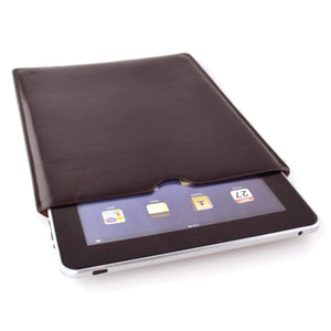 Executive Sleeve - Premium Synthetic Leather with Microfiber Lining - iPads iPad Sleeve Dockem iPad 1, 2, 3, 4