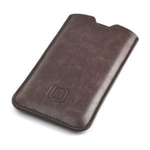 Executive Sleeve - Premium Synthetic Leather with Microfiber Lining - iPhones iPhone Sleeve Dockem iPhone 11 Pro Light Brown