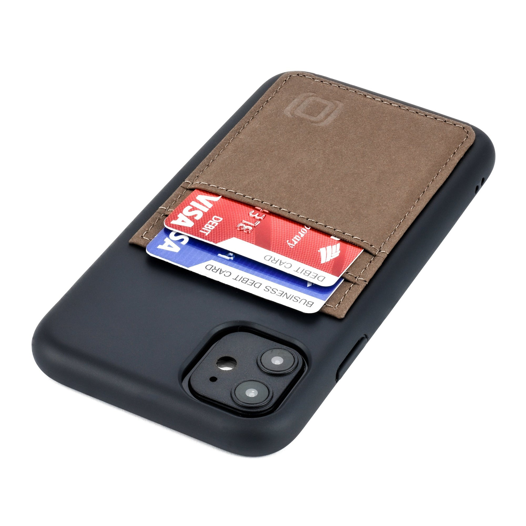 iPhone 11 Bio M2B Wallet Case iPhone Case Dockem Black & Tan