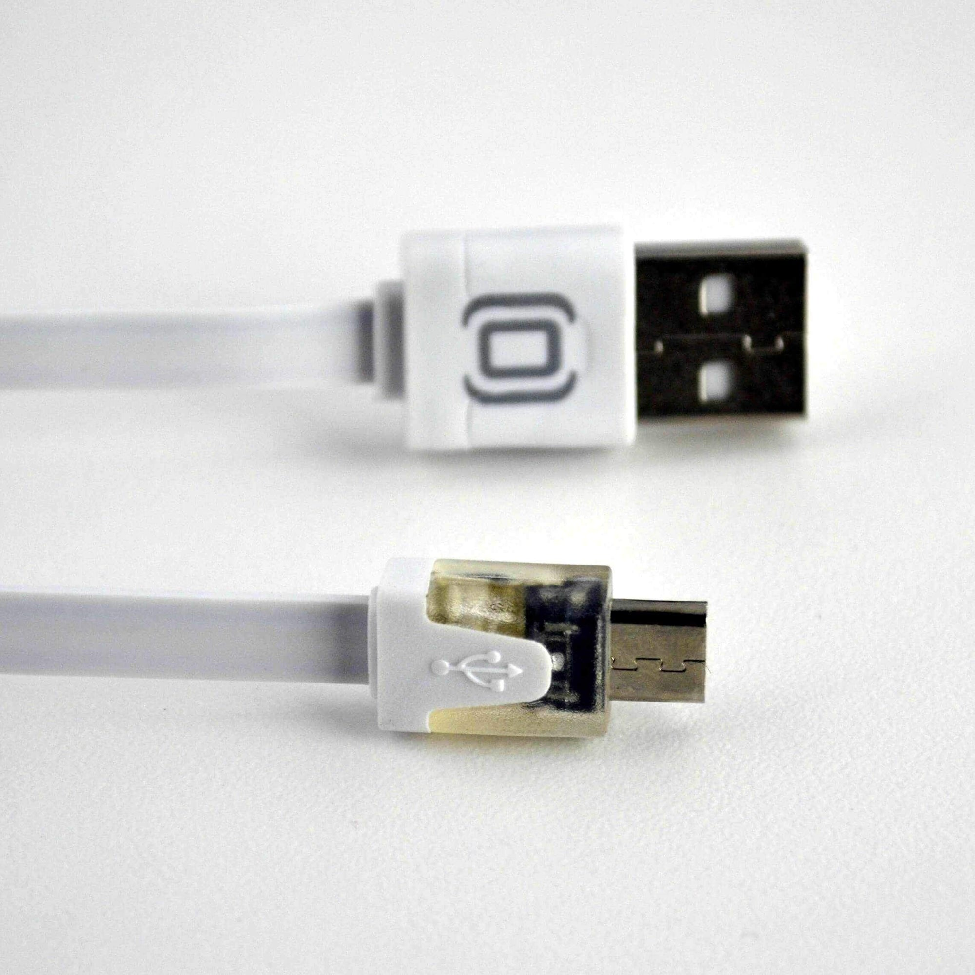 LED Light Up Micro USB Cable for Smartphones, Tablets, and other Electronics Accessories Charging Cable Dockem