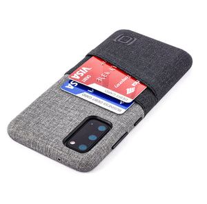 Luxe M2 Wallet Case for Samsung Galaxy S20, S20 Plus, S20 Ultra Samsung Case Dockem Galaxy S20 Black and Grey Yes