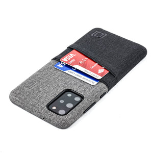 Luxe M2 Wallet Case for Samsung Galaxy S20, S20 Plus, S20 Ultra Samsung Case Dockem Galaxy S20 Plus Black and Grey Yes