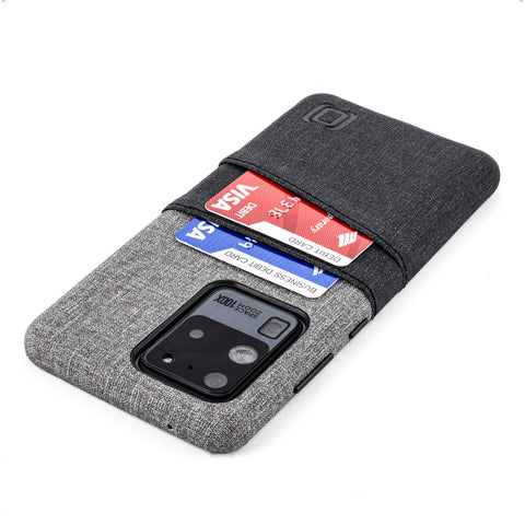 Luxe M2 Wallet Case for Samsung Galaxy S20, S20 Plus, S20 Ultra Samsung Case Dockem Galaxy S20 Ultra Black and Grey Yes