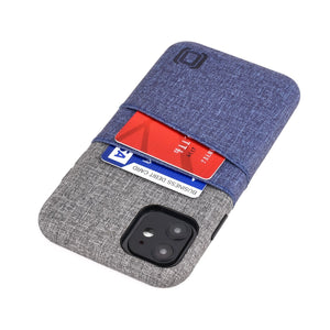 Luxe M2 Wallet Case iPhone Case Dockem iPhone 11 Navy and Grey Yes