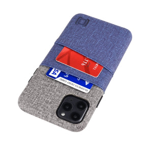 Luxe M2 Wallet Case iPhone Case Dockem iPhone 11 Pro Max Navy and Grey Yes