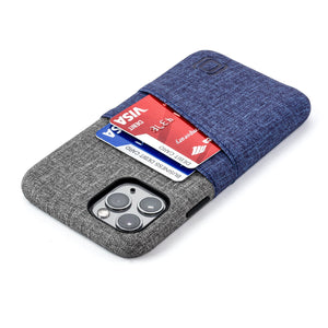 Luxe M2 Wallet Case iPhone Case Dockem iPhone 11 Pro Navy and Grey Yes