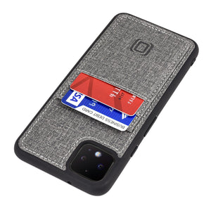 Luxe M2T Wallet Case for Google Pixel 4 & 4 XL Google Case Dockem Pixel 4 XL Yes Grey Luxe