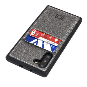 Luxe M2T Wallet Case for Samsung Galaxy Note 10 & Note 10+ Samsung Case Dockem Galaxy Note 10 Grey Luxe
