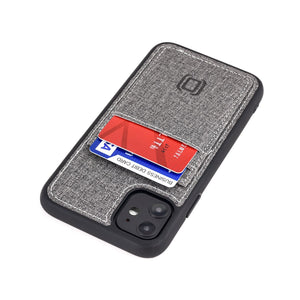 Luxe M2T Wallet Case with 2 Card Slots - iPhone iPhone Case Dockem iPhone 11 Grey Luxe