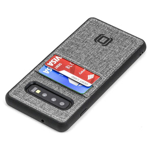 Luxe N2T Wallet Case for Samsung Galaxy S10, S10e, S10+ Samsung Case Dockem Galaxy S10 Grey Luxe