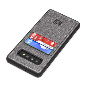 Luxe N2T Wallet Case for Samsung Galaxy S10, S10e, S10+ Samsung Case Dockem Galaxy S10+ Grey Luxe