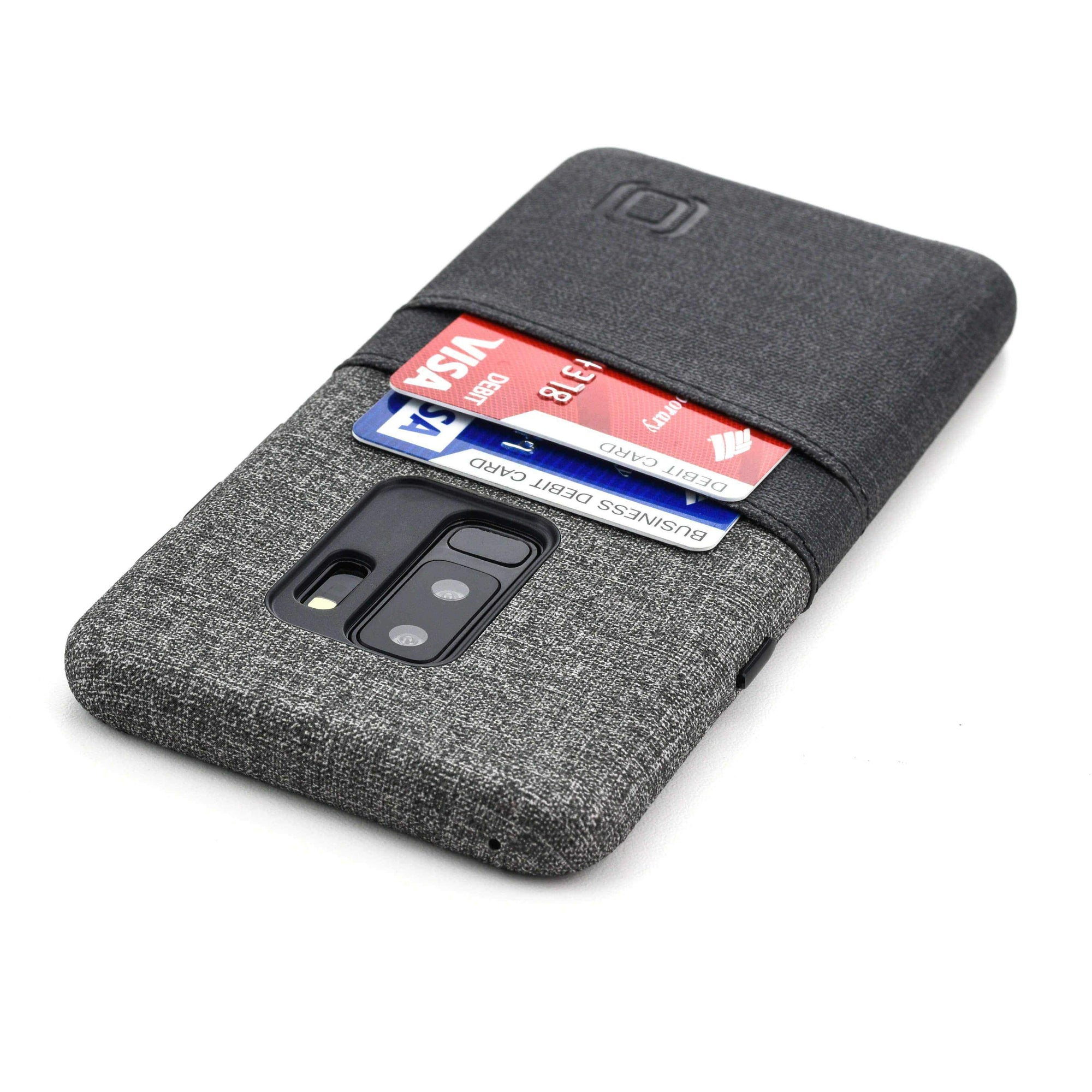 Luxe Samsung Galaxy S9 and S9+ 2 Card Wallet Case Samsung Case Dockem