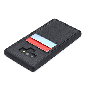 Luxe TPU Wallet Case for Samsung Galaxy Note 9 Samsung Case Dockem Black Luxe