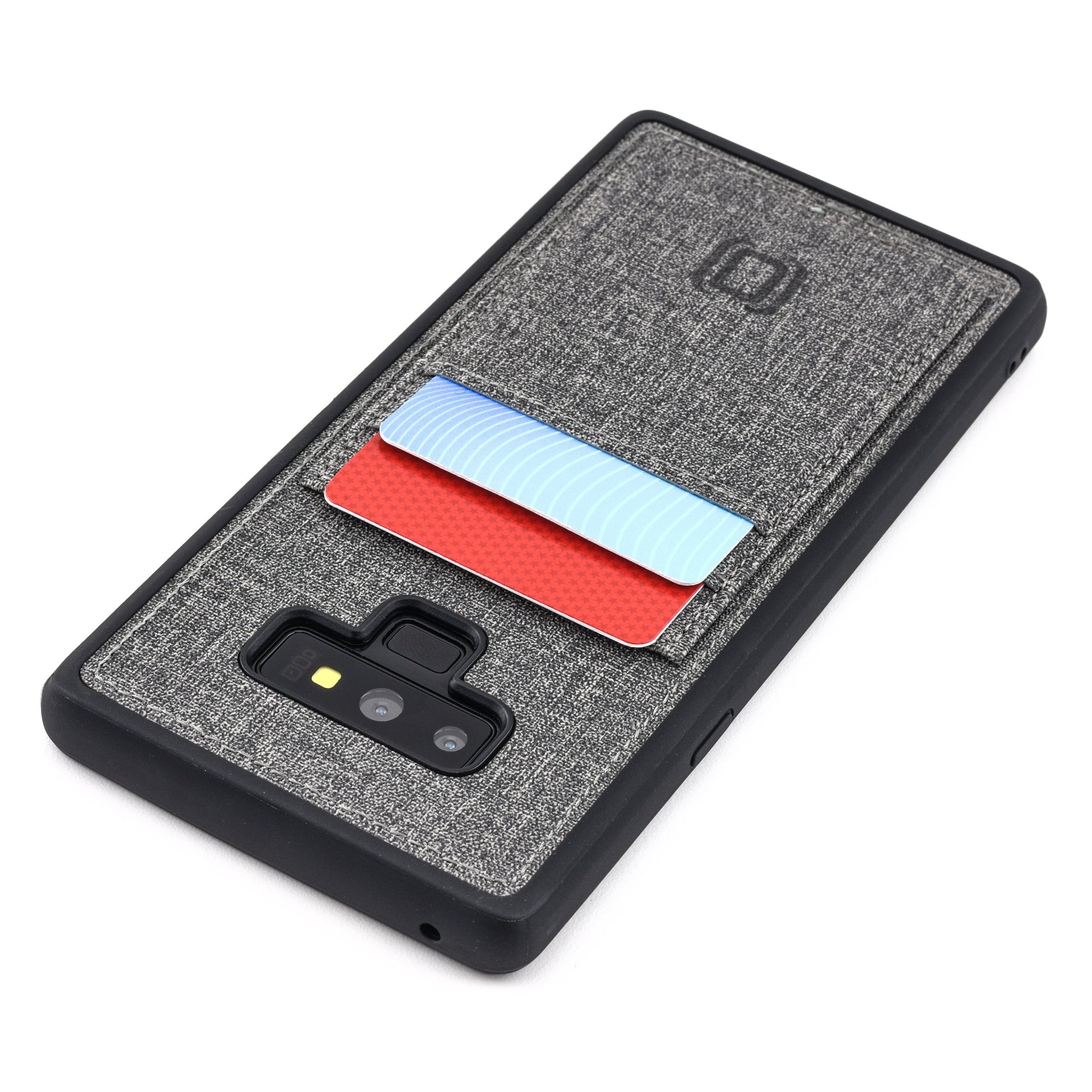 Luxe TPU Wallet Case for Samsung Galaxy Note 9 Samsung Case Dockem Grey Luxe