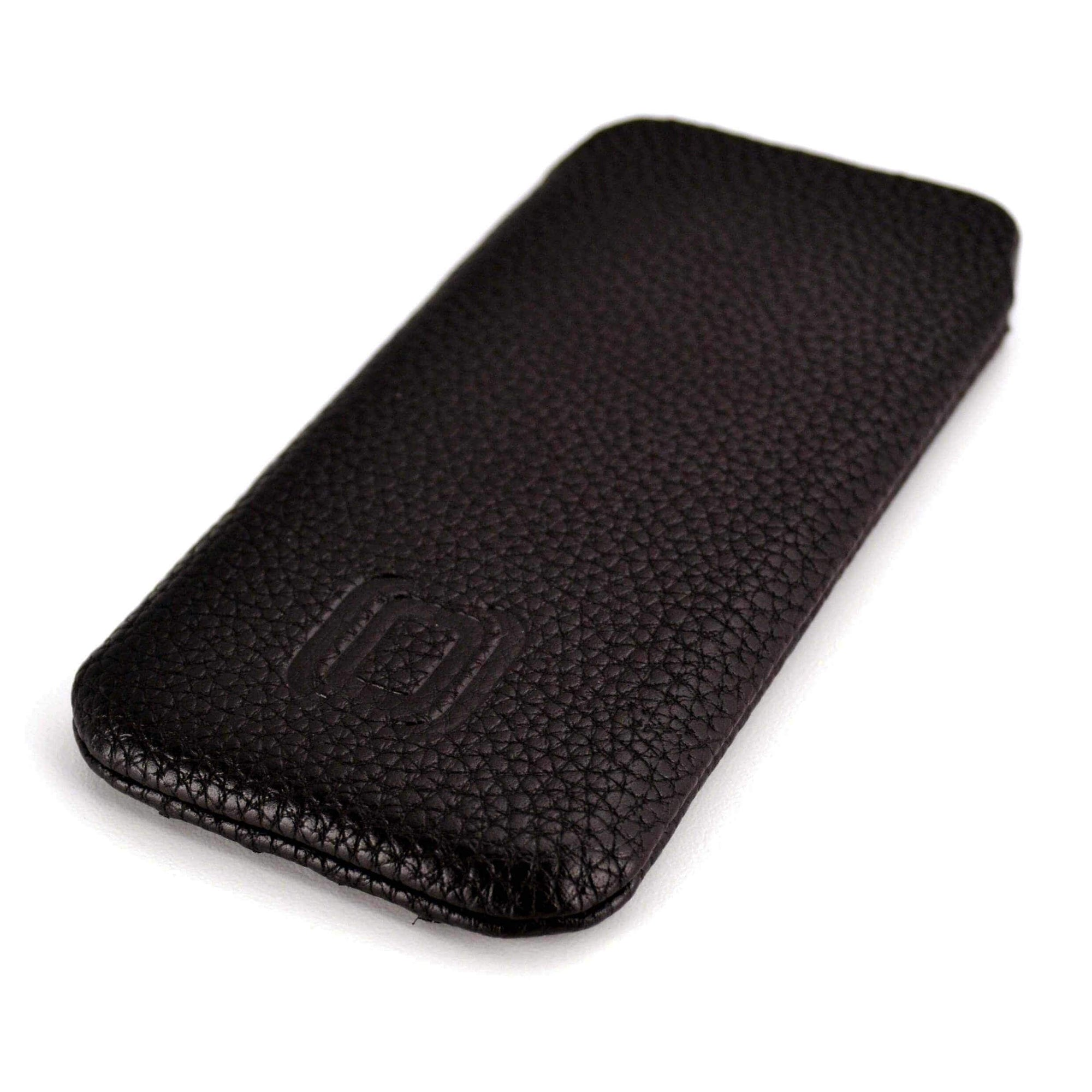 Ultra Slim Synthetic Leather Sleeve for Moto X - Dark Brown Misc. Sleeve Dockem