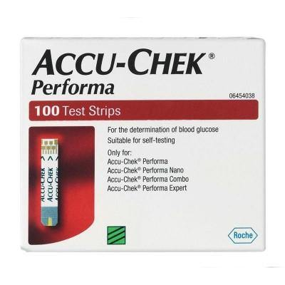 AccuChek Performa Test Strips - QureMed