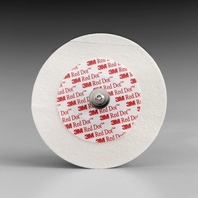 Electrode Red Dot Press Stud Type - QureMed