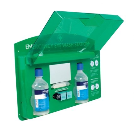 Elite Eyecare Station Wall Mount with Mirror - QureMed