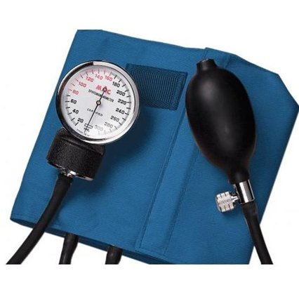 Sphygmomanometer Aneroid Palm Style Latex Free - QureMed