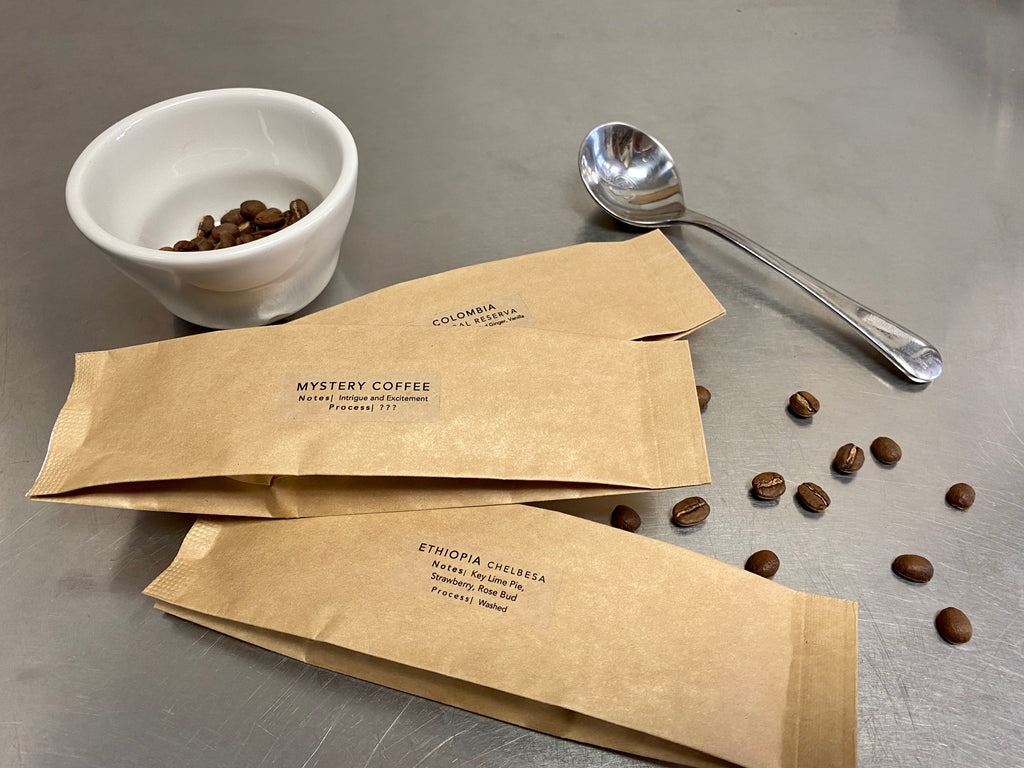 40g Sample Sleeves - FOR SEPT 28TH VIRTUAL CUPPING (Sold Out)