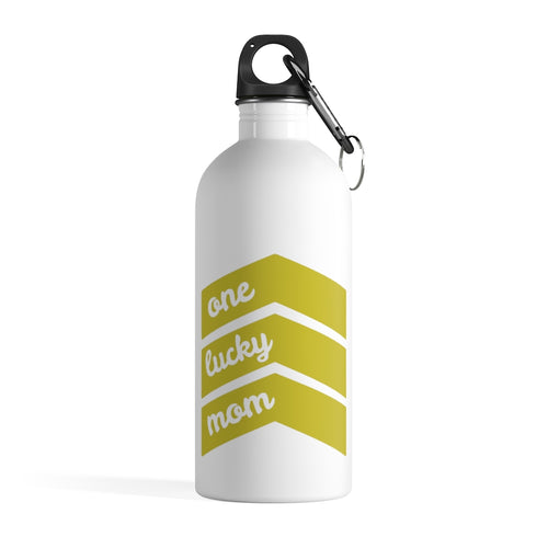One Lucky Mom - Stainless Steel Water Bottle
