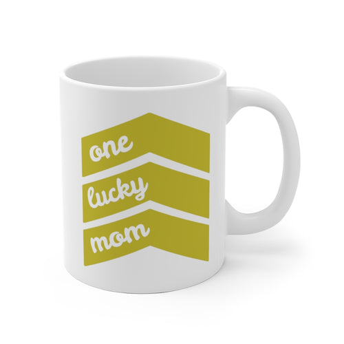 One Lucky Mom - Mug