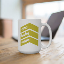 Load image into Gallery viewer, One Lucky Mom - Mug