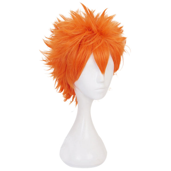 Haikyuu Heat Resistant Synthetic Hair Hinata Shoyo Carnival Halloween Party Props Cosplay Wig
