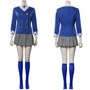Heathers The Musical Uniform Skirt Outfit Veronica Sawyer Halloween Carnival Costume Cosplay Costume