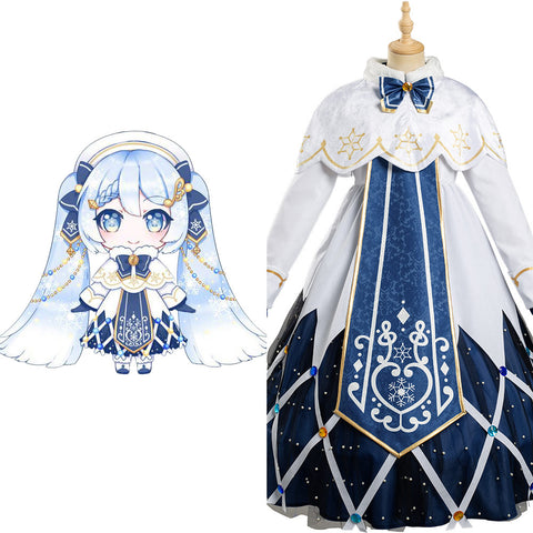 Vocaloid 2021 Dress Outfits Hatsune Miku Halloween Carnival Suit Cosplay Costume