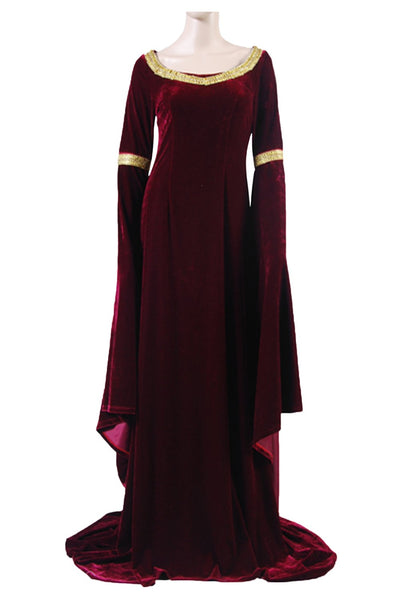 The Lord of the Rings Arwen's Cranberry Gown Dress