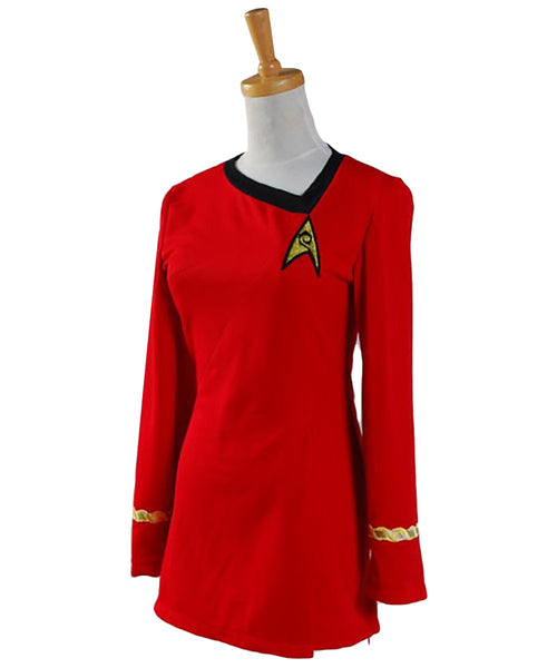 Star Trek Cosplay Costume The Woman Duty Uniform Dress Costume Full Set Uniform Adult Female
