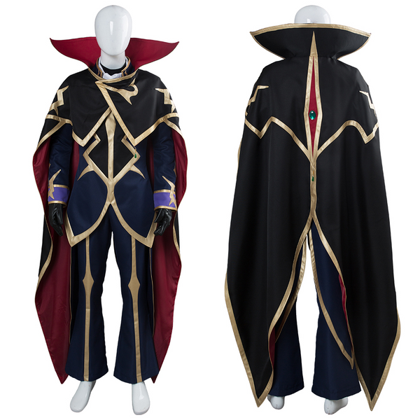 Code Geass: Lelouch of the Resurrection Season 3 Zero Dress Suit Uniform