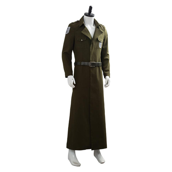 Attack on Titan Season 3 Eren Cosplay Costume Scouting Legion Soldier Officer Uniform