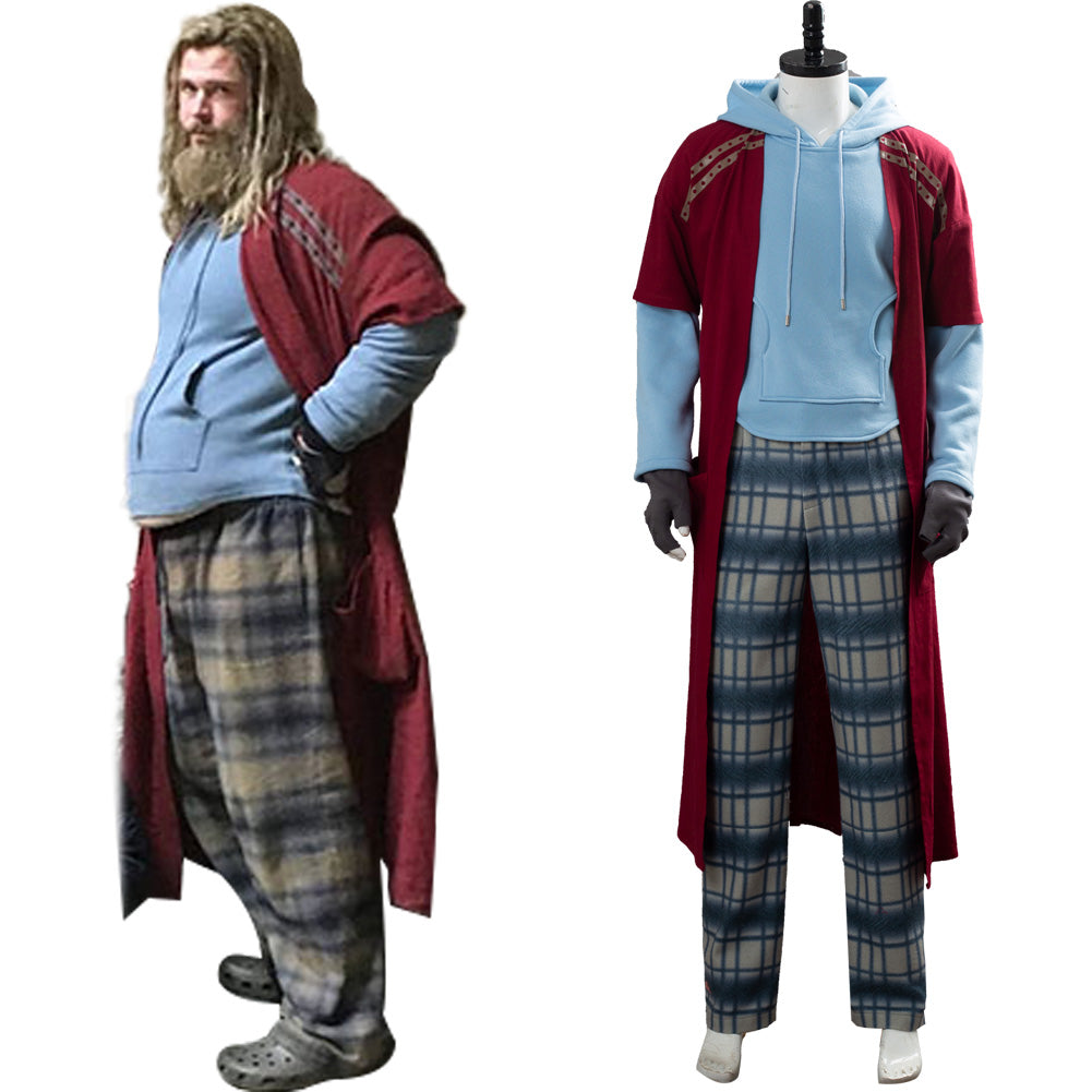 Avengers Endgame Fat Thor Outfit Cosplay Costume