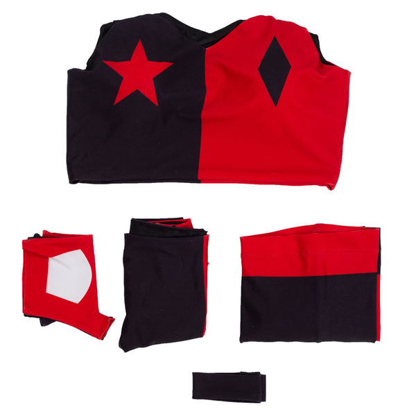 2019 Harley Quinn Suit Anime Cosplay Costume