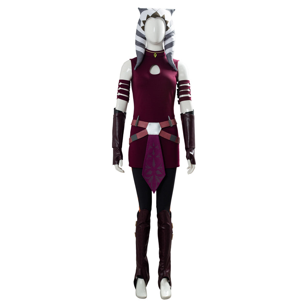 Ahsoka Tano Suit Star Wars: The Clone Wars Cosplay Costume ...