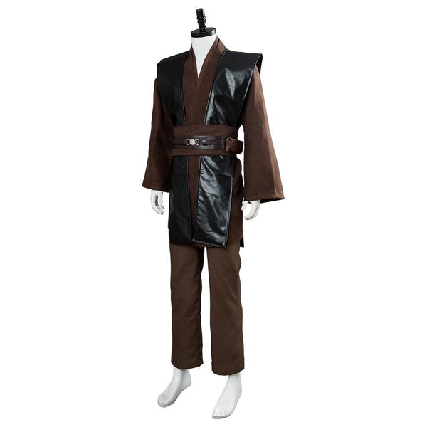 Star Wars Anakin Brown No Clock Cosplay Costume