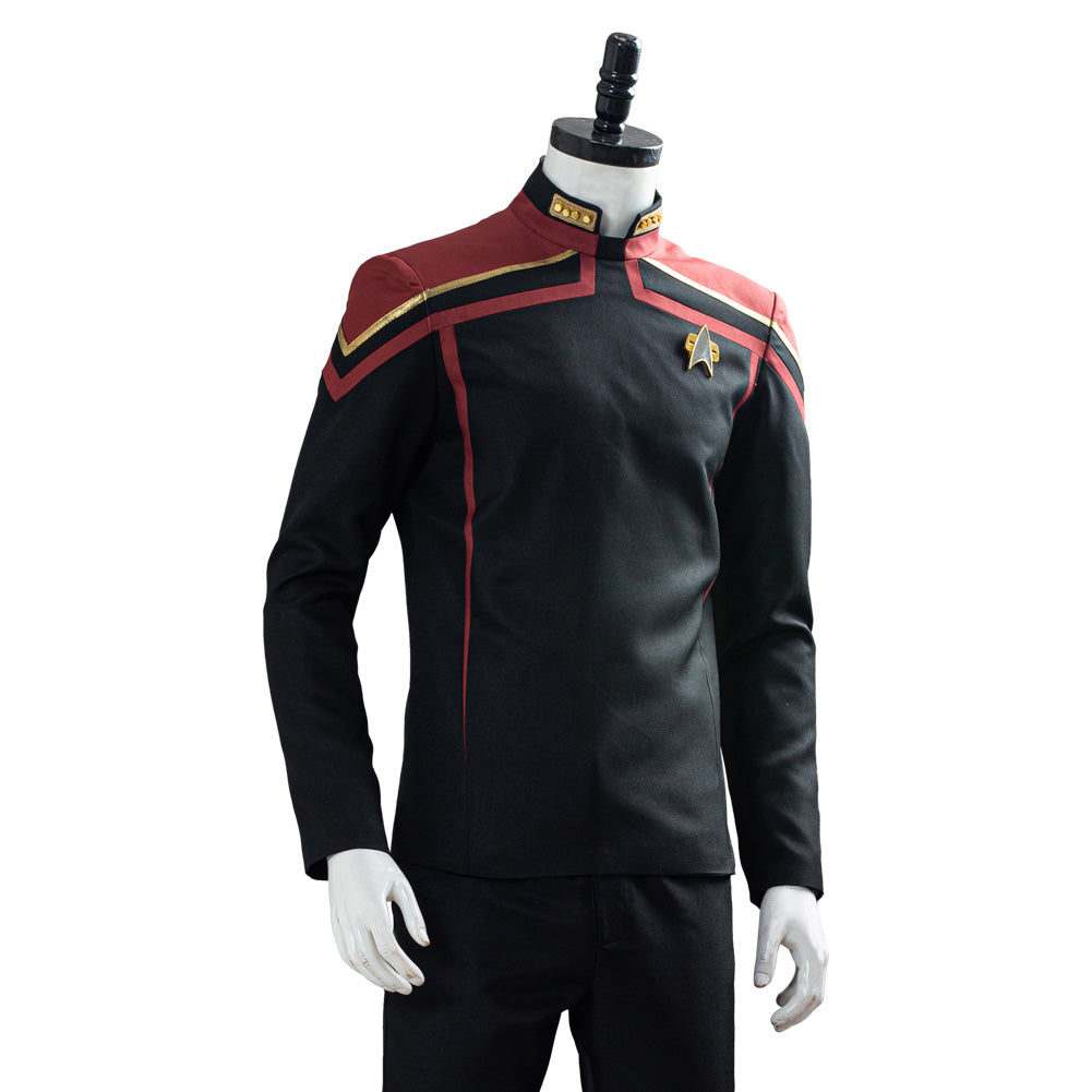 Star Trek Captain Jean-Luc Picard/'s Cosplay Costume Uniform Outfit Casual Shirt