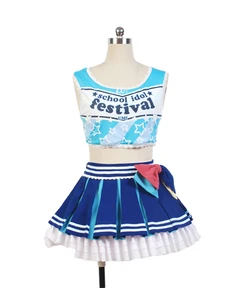 LoveLive! Sonoda Umi Cheerleaders Uniform Cosplay Costume