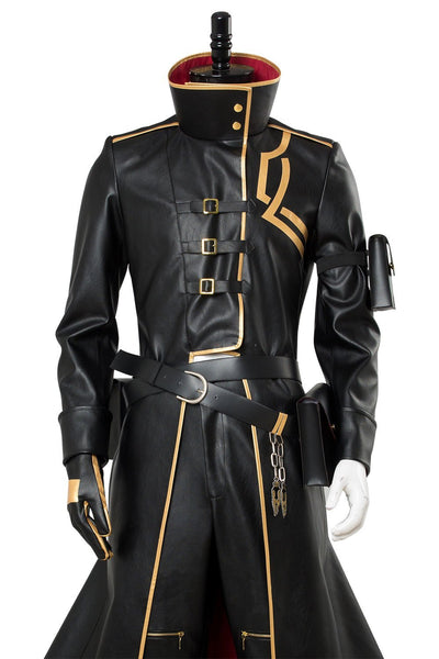Fate/Grand Order Gilgamesh Leather Overcoat Cosplay Costume