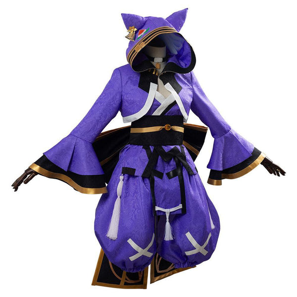 Game Fate/Grand Order Koyanskaya Tamamonomae Luxurious Cosplay Costume