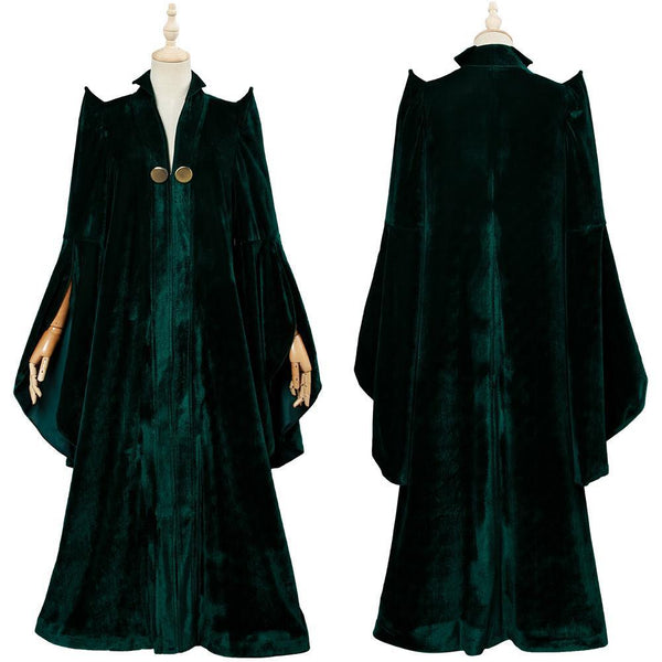 Harry Potter Minerva McGonagall Cosplay Costume