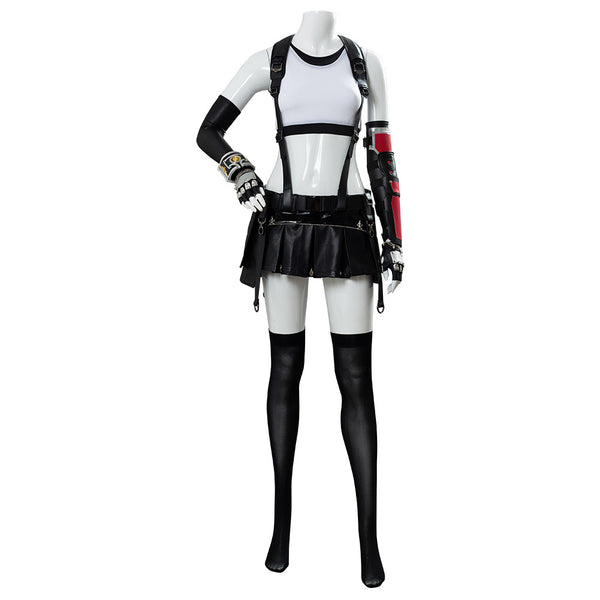 Final Fantasy VII 7 Remake Tifa Lockhart Uniform Cosplay Costume