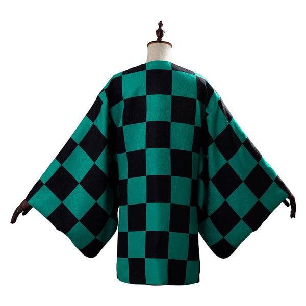 Demon Slayer Kamado Tanjirou Coat Cosplay Costume