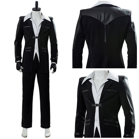 Final Fantasy 7 Remake Costume Reno Uniform Cosplay Costume