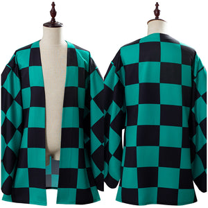 Demon Slayer: Kimetsu no Yaiba Tanjirou/Tanjiro Kamado Outfit Cosplay Costume